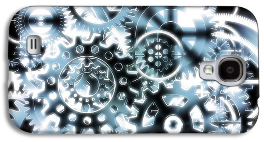 Art Galaxy S4 Case featuring the photograph Gears Wheels Design by Setsiri Silapasuwanchai