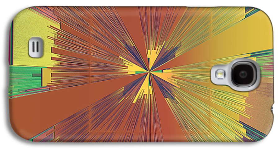 Abstract Galaxy S4 Case featuring the digital art Abstract 4 by Deborah Benoit