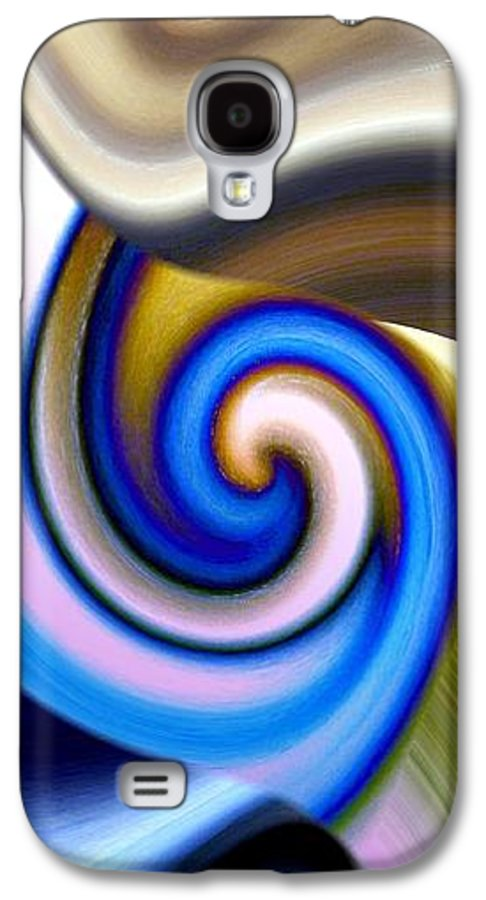 Abstract Fusion Galaxy S4 Case featuring the digital art Abstract Fusion 114 by Will Borden