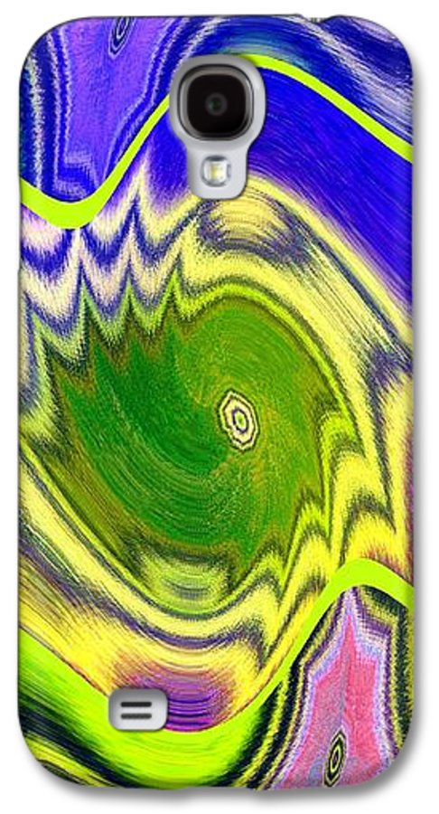 Abstract Fusion Galaxy S4 Case featuring the digital art Abstract Fusion 157 by Will Borden