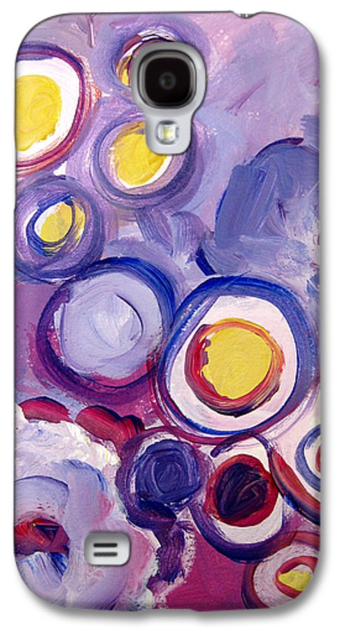 Abstract Art Galaxy S4 Case featuring the painting Abstract I by Patricia Awapara