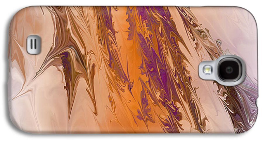 Abstract Galaxy S4 Case featuring the digital art Abstract In July by Deborah Benoit