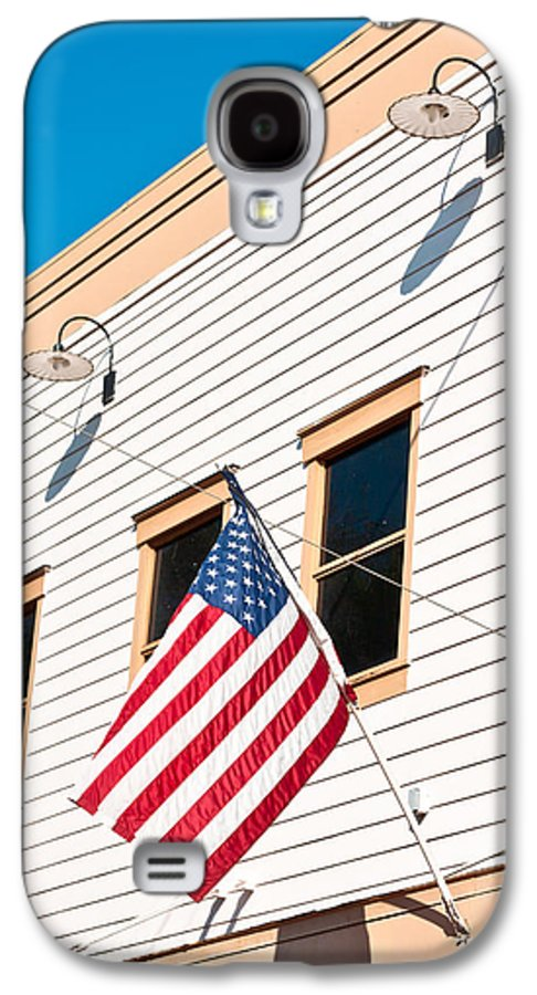4th Galaxy S4 Case featuring the photograph American Flag by Tom Gowanlock