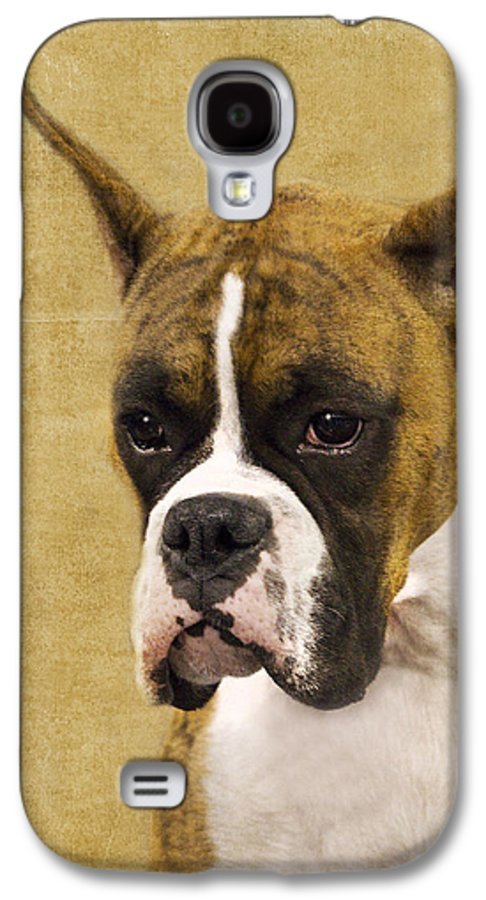 Boxer Galaxy S4 Case featuring the photograph Boxer by Rebecca Cozart