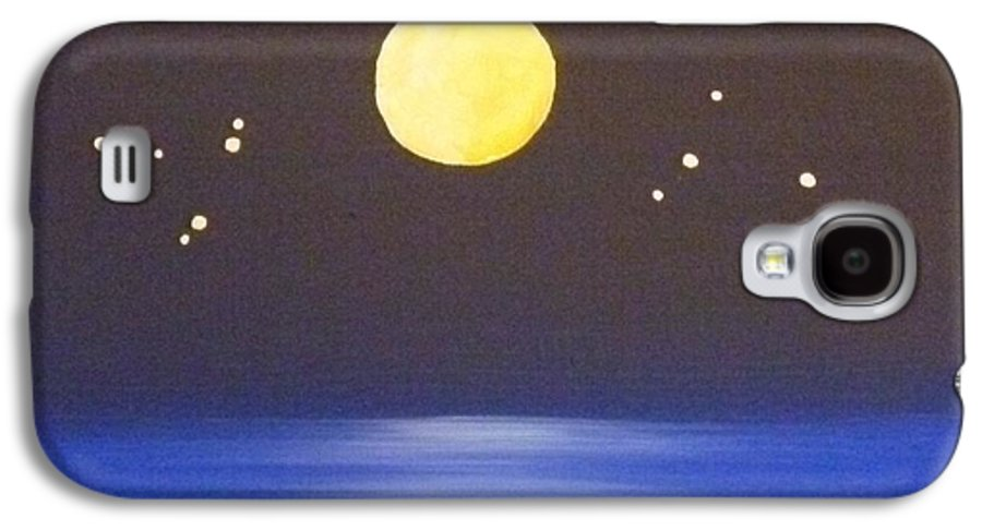 Destiny Galaxy S4 Case featuring the painting Capricorn And Libra by Alys Caviness-Gober
