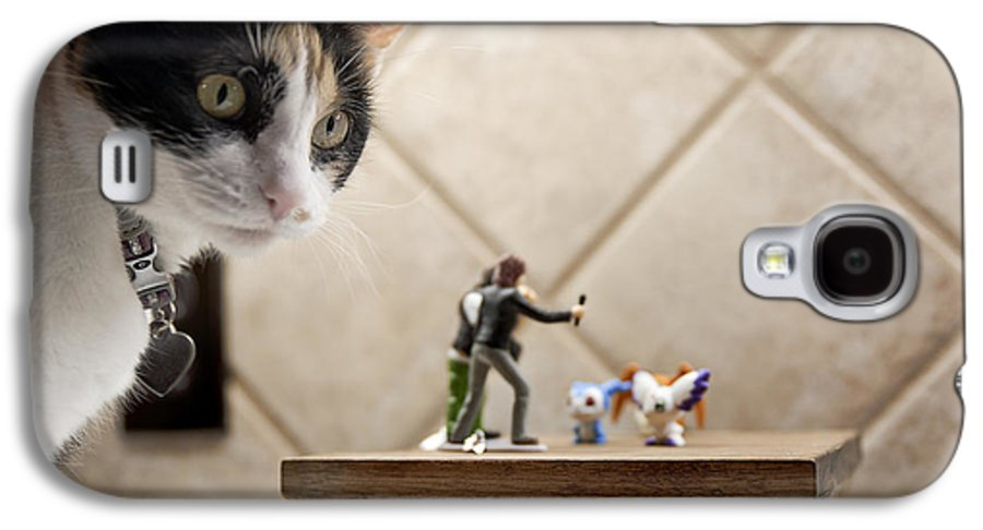 American Shorthair Galaxy S4 Case featuring the photograph Catzilla by Melany Sarafis