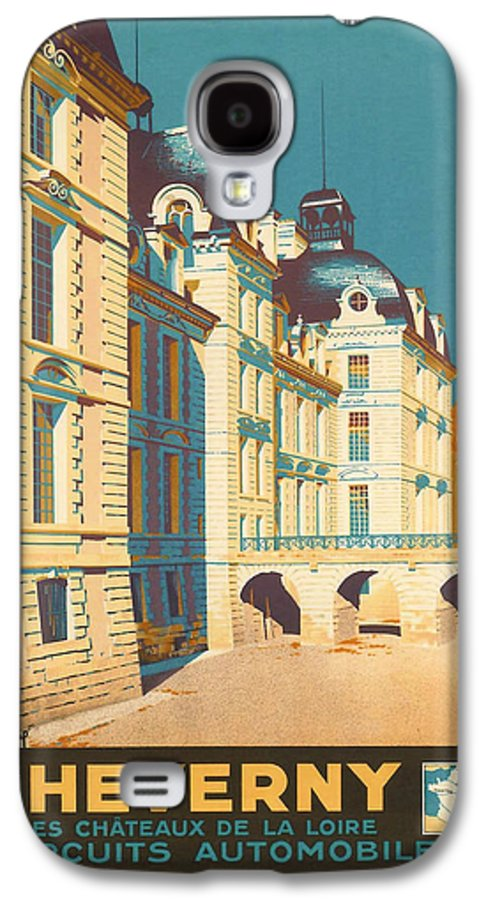 Ancient Galaxy S4 Case featuring the digital art Chateau De Cheverny by Georgia Fowler