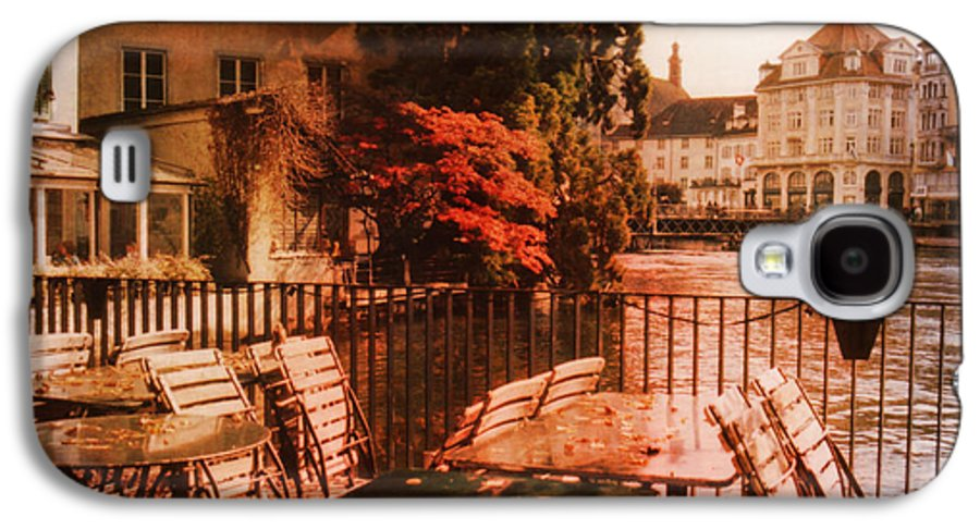Lucerne Galaxy S4 Case featuring the photograph Fall In Lucerne Switzerland by Susanne Van Hulst