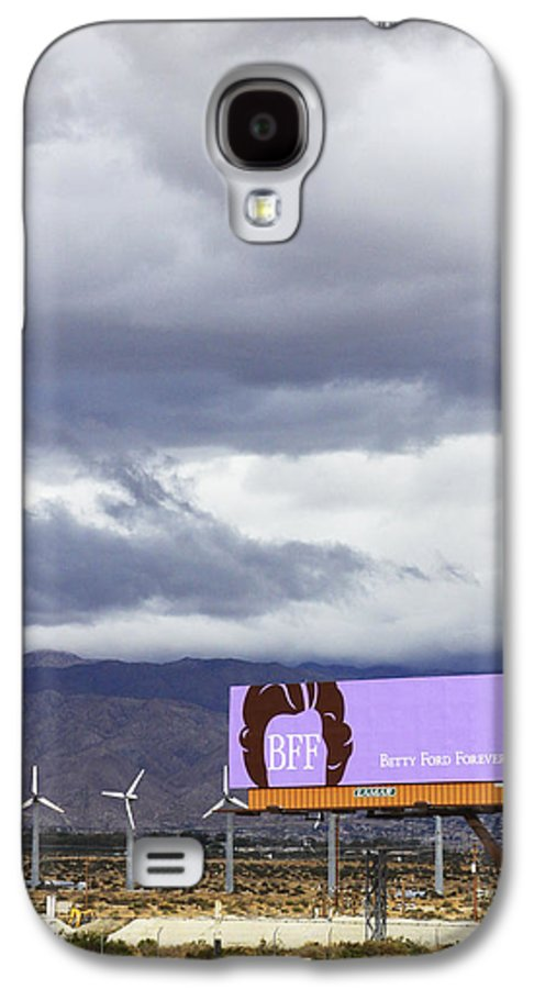 Windmills Galaxy S4 Case featuring the photograph Forever Palm Springs by William Dey