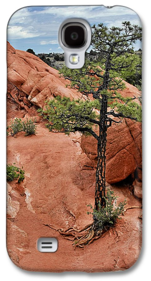 Natural Galaxy S4 Case featuring the photograph Garden Of The Gods - The Name Says It All by Christine Till