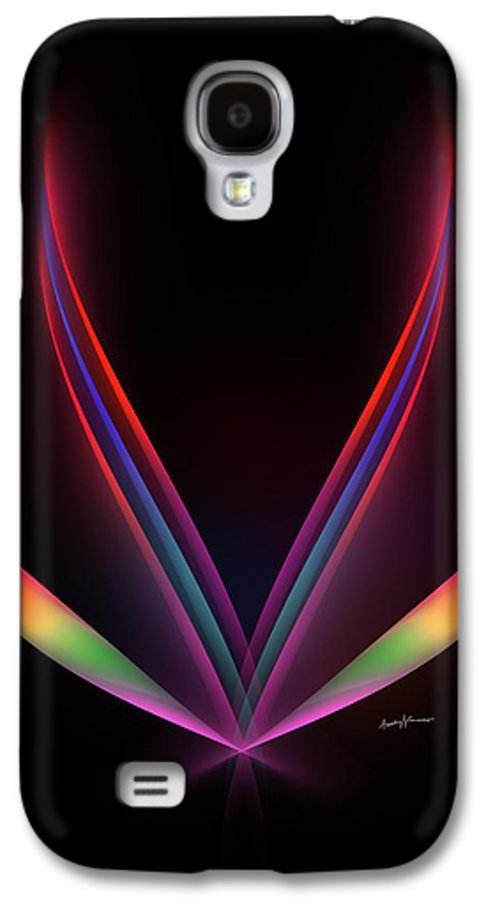 Abstract Galaxy S4 Case featuring the digital art Hope by Anthony Caruso