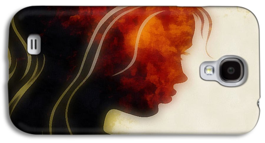 Wonder Galaxy S4 Case featuring the digital art I Walked Away 1 by Angelina Vick