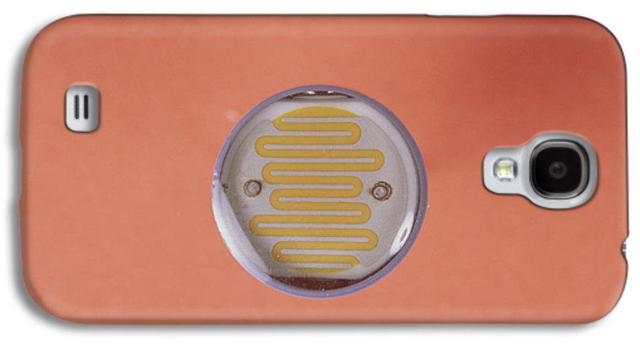 Component Galaxy S4 Case featuring the photograph Light Dependent Resistor by Andrew Lambert Photography