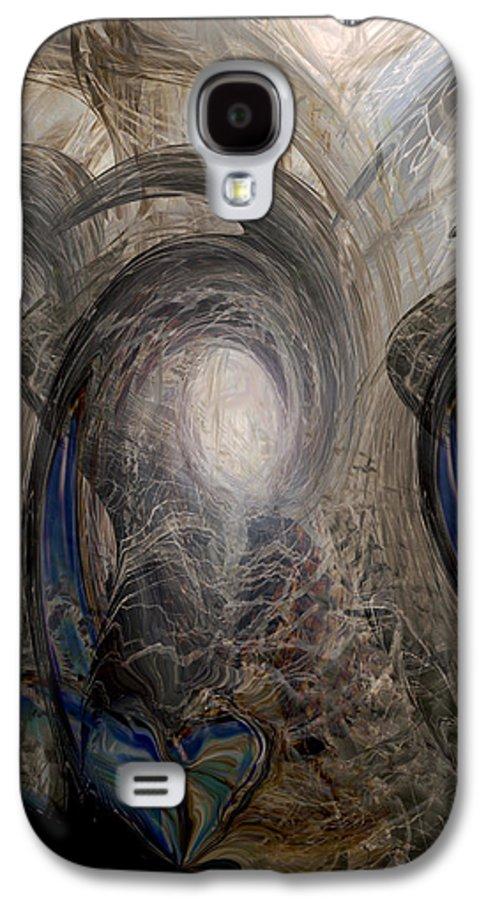Digital Art Galaxy S4 Case featuring the digital art Massive Attack by Linda Sannuti