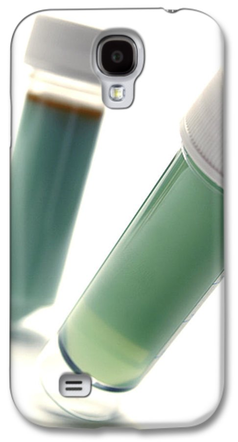 Sample Galaxy S4 Case featuring the photograph Microbiology Samples by Crown Copyrighthealth & Safety Laboratory