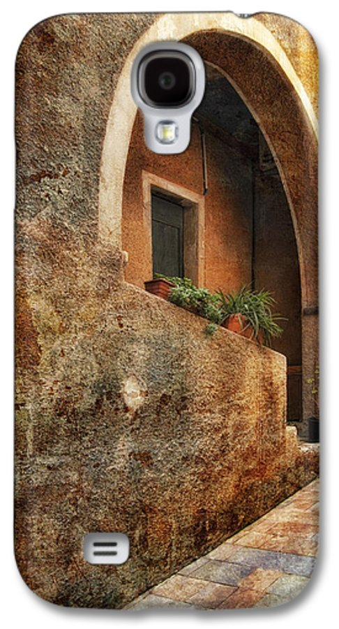 Art Galaxy S4 Case featuring the pyrography North Italy 3 by Mauro Celotti