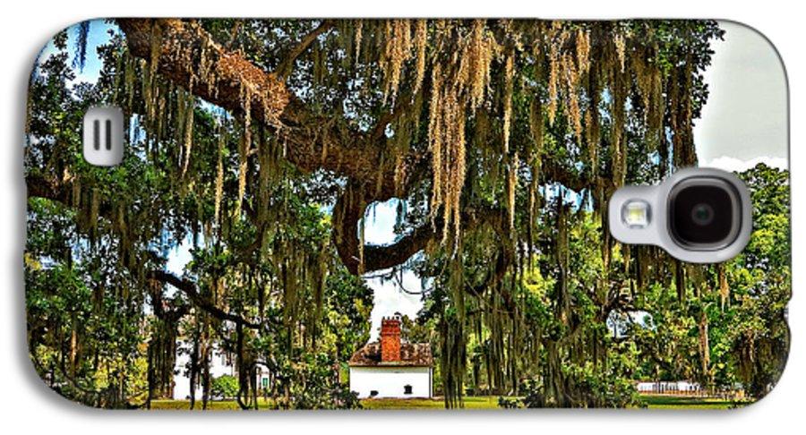 Evergreen Plantation Galaxy S4 Case featuring the photograph Plantation by Steve Harrington