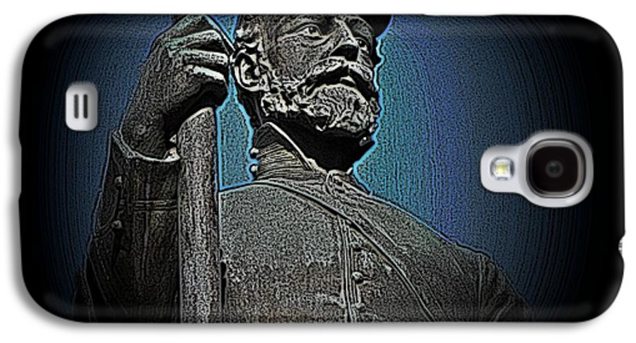Civil War Galaxy S4 Case featuring the photograph Portrait 30 American Civil War by David Dehner