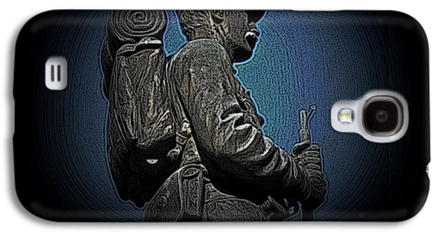 Civil War Galaxy S4 Case featuring the photograph Portrait 31 American Civil War by David Dehner