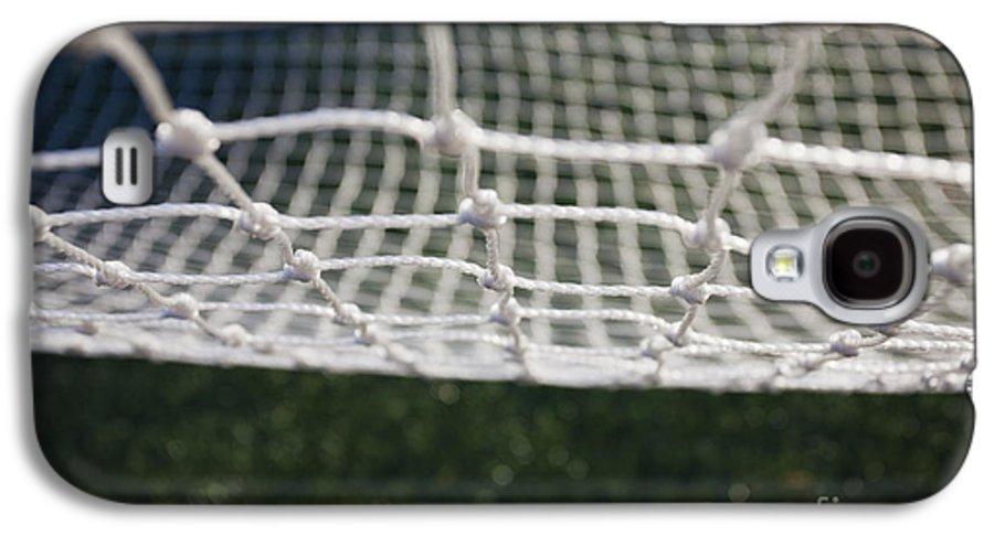 Barrier Galaxy S4 Case featuring the photograph Soccer Net by Paul Edmondson