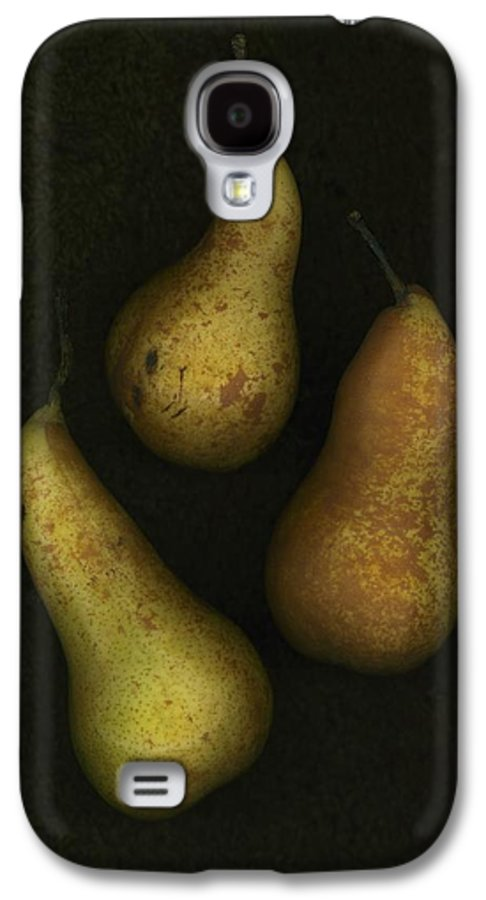 Arranged Galaxy S4 Case featuring the photograph Three Golden Pears by Deddeda