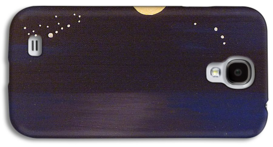 Stars Galaxy S4 Case featuring the painting Virgo And Aries by Alys Caviness-Gober