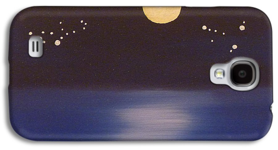 Stars Galaxy S4 Case featuring the painting Virgo And Capricorn by Alys Caviness-Gober