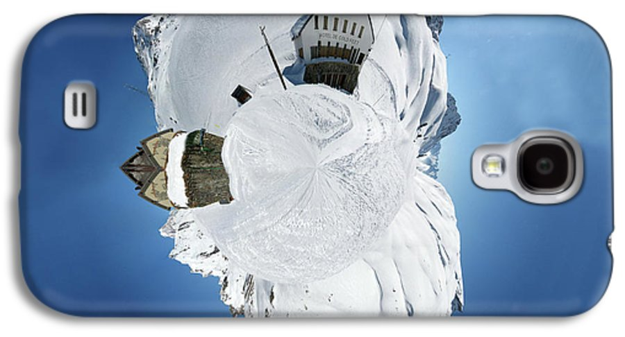 Personalized Galaxy S4 Case featuring the photograph Wee Winter Hotel by Nikki Marie Smith