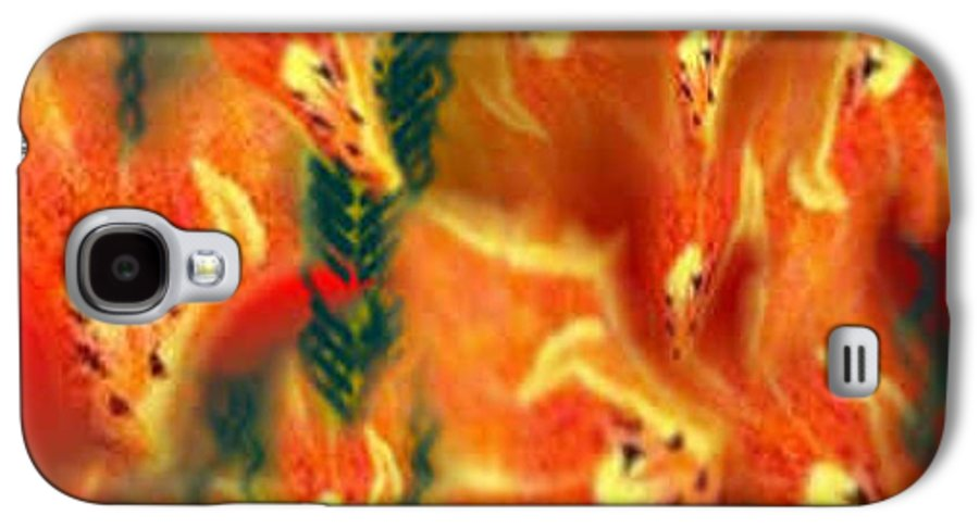Florals Galaxy S4 Case featuring the digital art Symphonic Dance by Brenda L Spencer