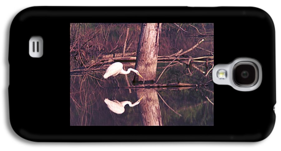 Great Egret Galaxy S4 Case featuring the photograph 070406-17 by Mike Davis