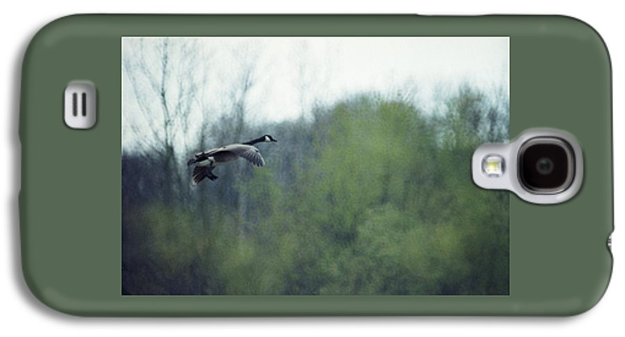 Canada Goose Galaxy S4 Case featuring the photograph 070406-40 by Mike Davis