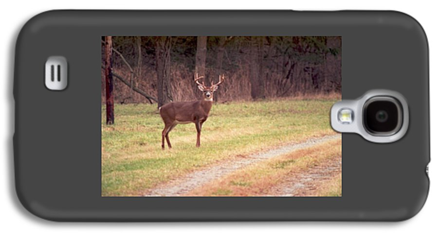 Deer Galaxy S4 Case featuring the photograph 070506-17 by Mike Davis