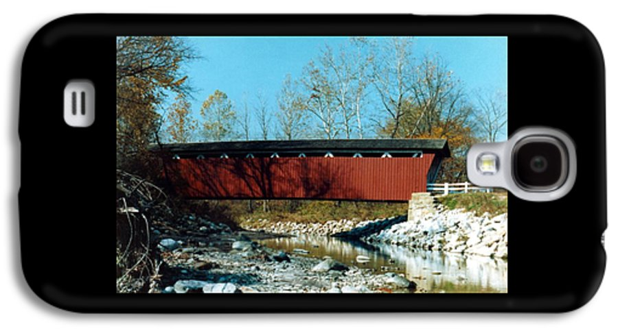 Bridge Galaxy S4 Case featuring the photograph 072106-31 by Mike Davis