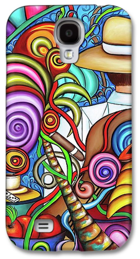 Cuba Galaxy S4 Case featuring the painting Always by Annie Maxwell