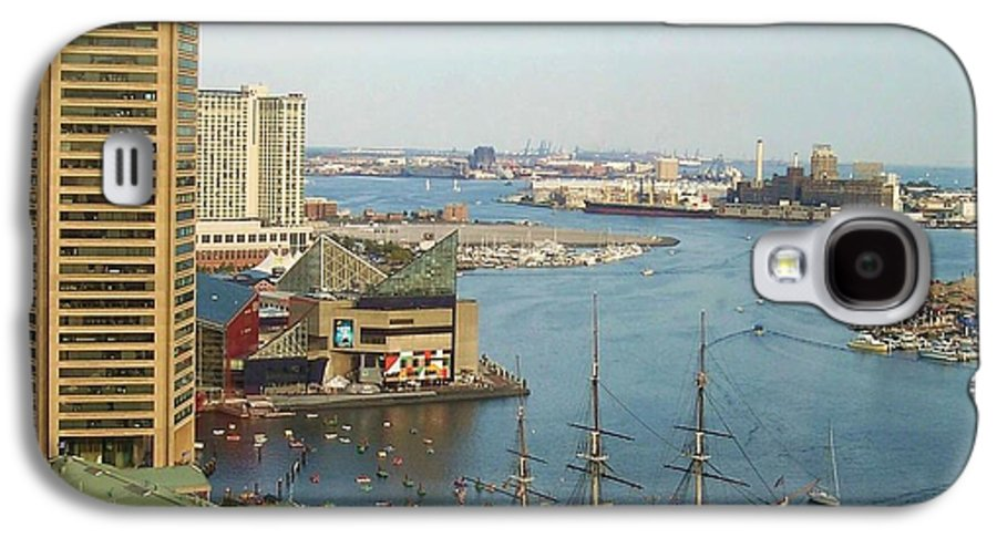 Baltimore Galaxy S4 Case featuring the photograph Baltimore by Debbi Granruth