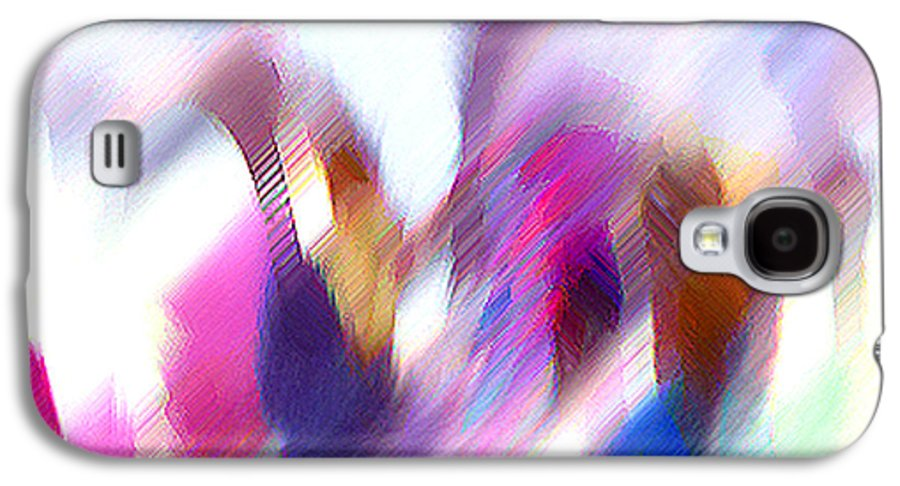 Digital Media Galaxy S4 Case featuring the painting Color Dance by Anil Nene