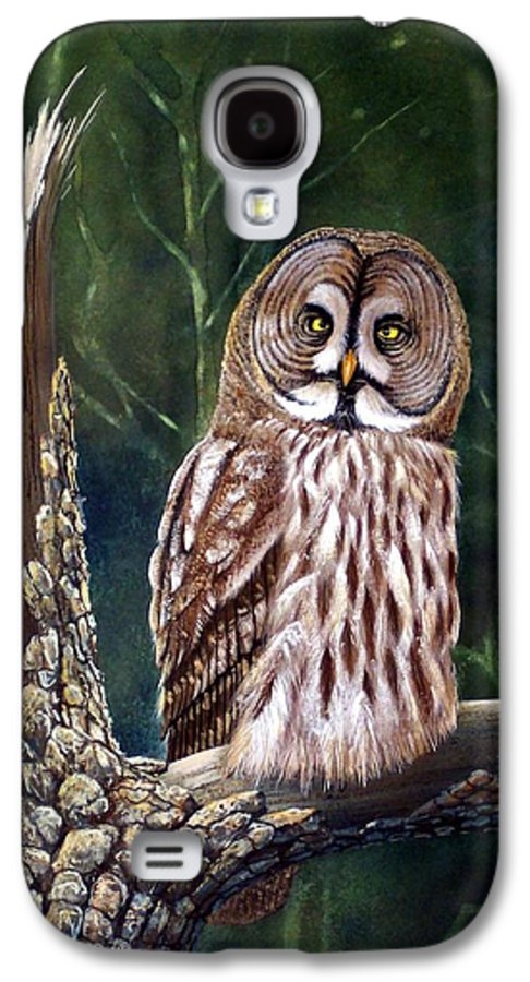 Wildlife Galaxy S4 Case featuring the painting Deep In The Woods by Frank Wilson