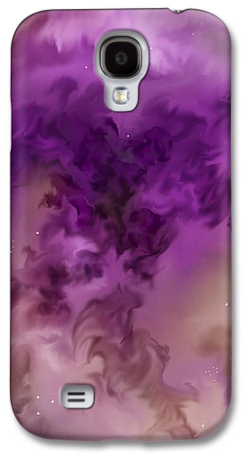 Starscape Galaxy S4 Case featuring the painting Eagle Nebula From The Hubble by Anne Norskog
