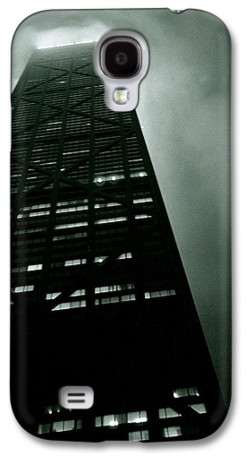 Geometric Galaxy S4 Case featuring the photograph John Hancock Building - Chicago Illinois by Michelle Calkins
