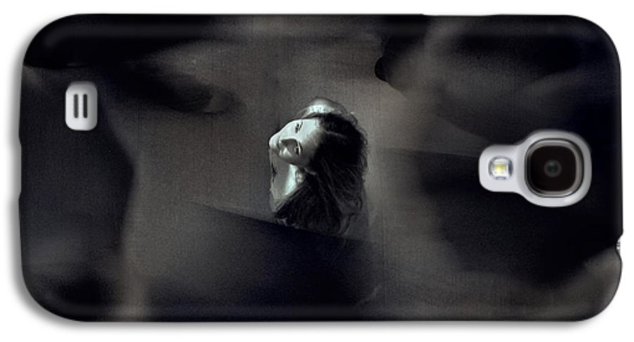 Street Galaxy S4 Case featuring the photograph Just For Today I Will Not Be Afraid by Dana DiPasquale