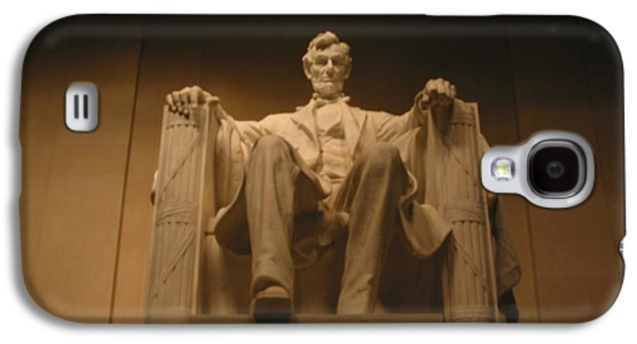 Abraham Lincoln Galaxy S4 Case featuring the painting Lincoln Memorial by Brian McDunn