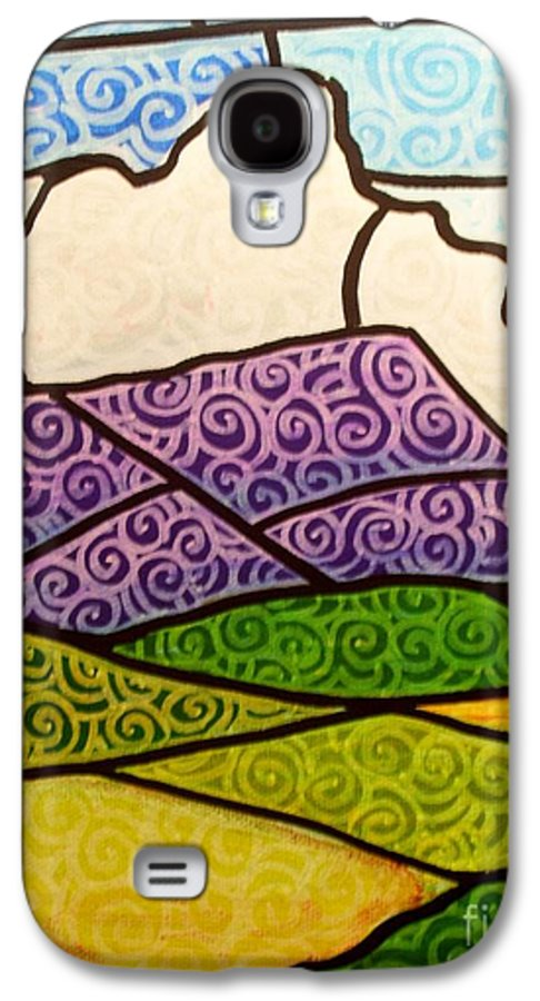 Mountians Galaxy S4 Case featuring the painting Massanutten Peak by Jim Harris