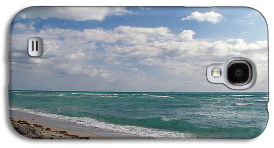 Miami Beach Galaxy S4 Case featuring the photograph Miami Beach by Amanda Barcon