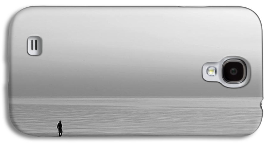 Lake Galaxy S4 Case featuring the photograph One Man by Dana DiPasquale