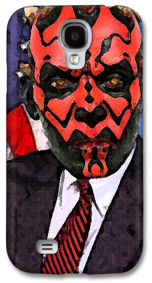 Star Wars Galaxy S4 Case featuring the digital art Senator Darth Maul by Eric Forster