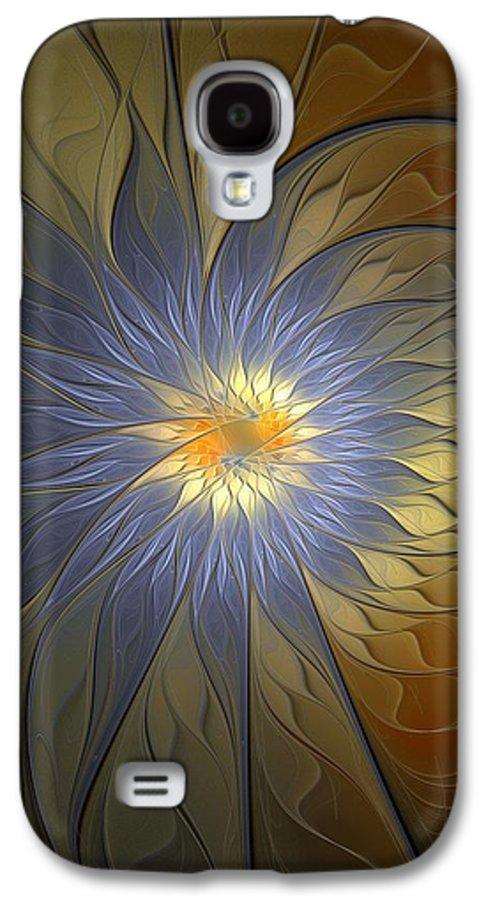 Digital Art Galaxy S4 Case featuring the digital art Something Blue by Amanda Moore