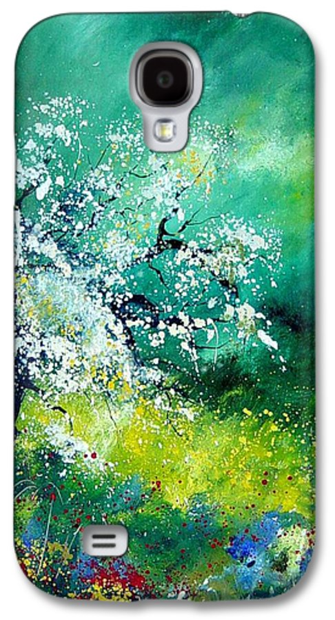 Flowers Galaxy S4 Case featuring the painting Spring by Pol Ledent