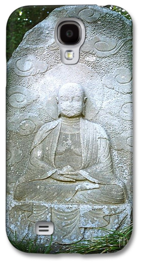Stone Galaxy S4 Case featuring the photograph Stone Buddha by Dean Triolo