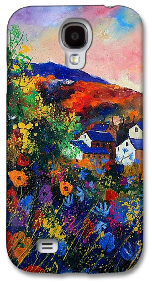 Landscape Galaxy S4 Case featuring the painting Summer by Pol Ledent
