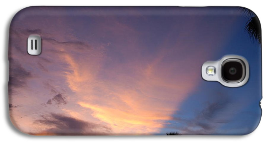 Sunset Galaxy S4 Case featuring the photograph Sunset At Pine Tree by Rob Hans